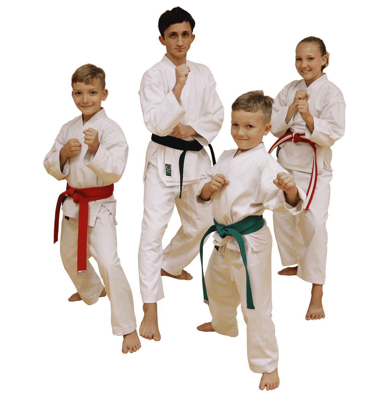 Joe Goss Karate Students